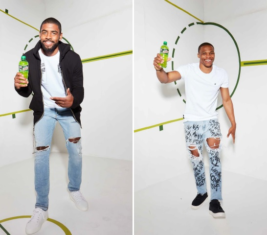 BTS with Kyrie Irving & Russell Westbrook | Mountain Dew