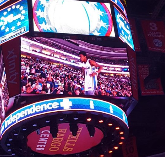 Sixers Fans Booed Desiigner Off The Court for Lip Syncing