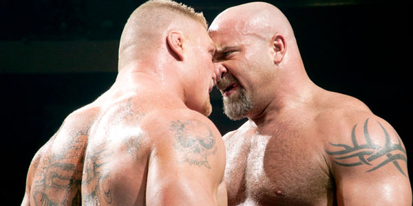 Goldberg Will Take on Brock Lesnar?