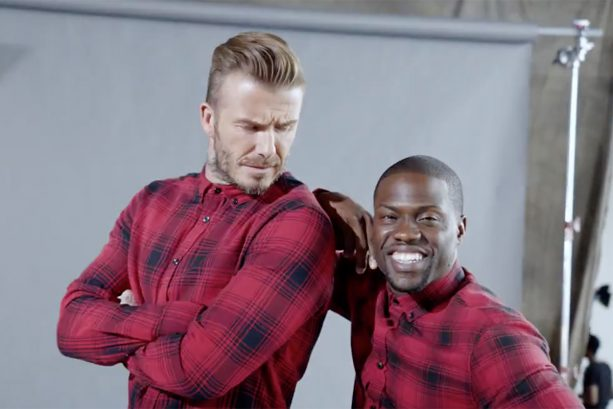 Behind the scenes of The Roadtrip with Davd Beckham & Kevin Hart