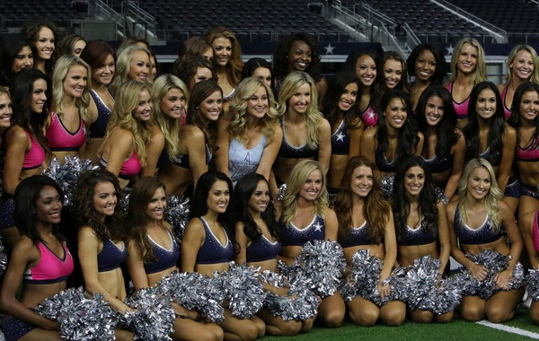 Kellie Pickler Brings Her Spunk to Dallas Cowboys Cheerleaders