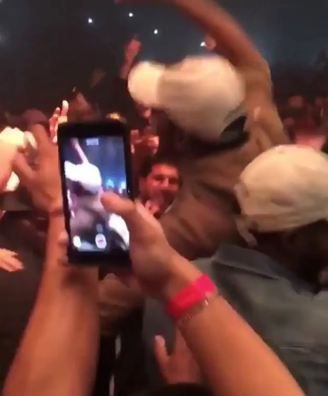Kevin Durant Up Close and Personal in the Mosh Pit