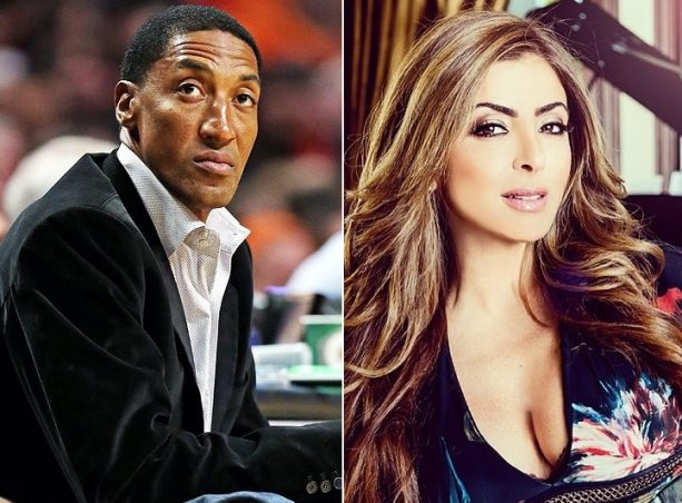 Scottie Pippen Got Caught with a Sidechick?