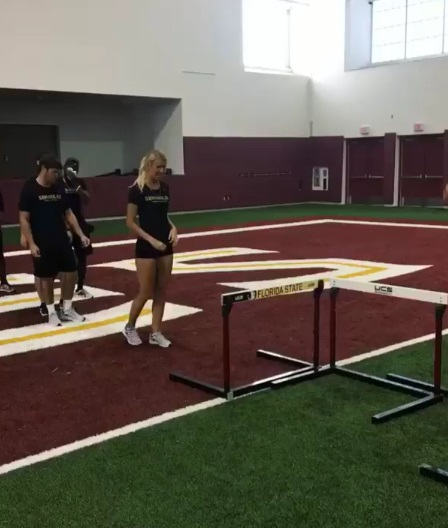 RG3's Girlfriend's Knee is Back to 100%