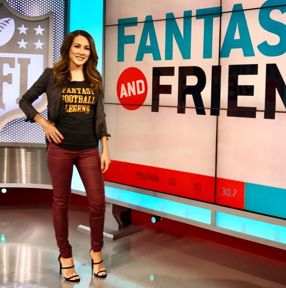 NFL Network Host Continues her Fantasy Domination