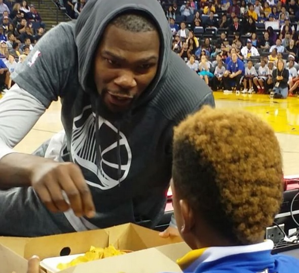 Kevin Durant is a Nachos Guy