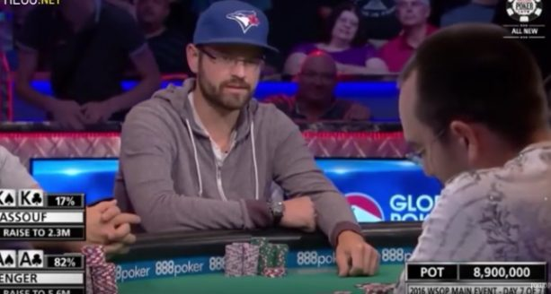 Player's Feelings Get Hurt During Crazy Intense ALL-IN poker hand