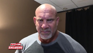 Goldberg emerges in WWE for the first time in 12 years