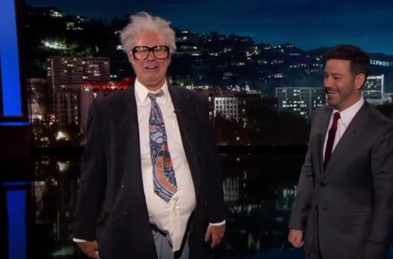 Harry Caray Surprises Jimmy Kimmel