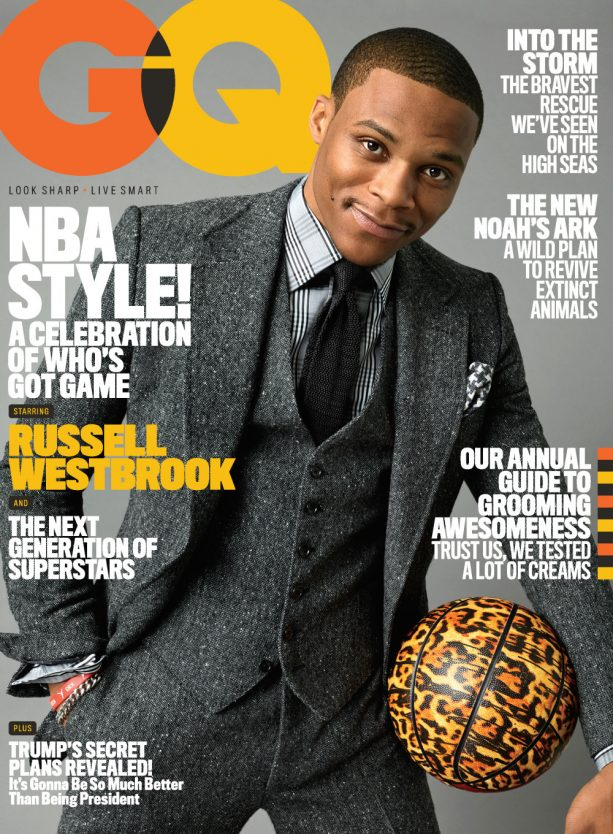 Russell Westbrook Shows Best Outfits from His GQ Cover Shoot