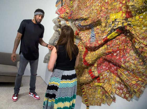 Amar'e Stoudemire Rising as an Art Connoisseur