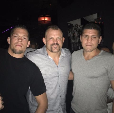 Chuck Liddell Wants McGregor vs Diaz 3