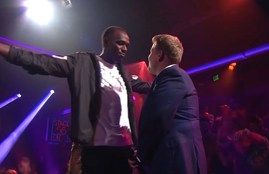 Usain Bolt Destroys James Cordon In Rap Battle