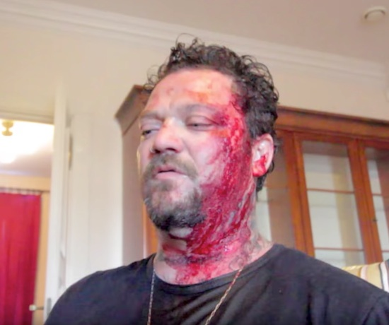 Skateboarder Bam Margera Releases New Music Video