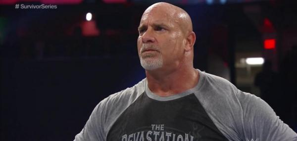 Goldberg lays out Rusev and Paul Heyman