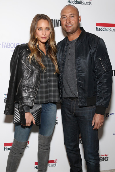 Derek and Hannah Jeter Make an Appearance