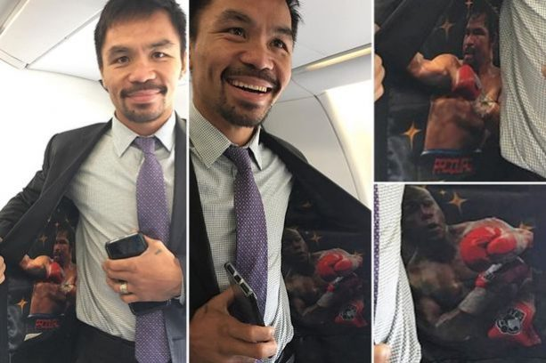 Manny Pacquiao fuels talk of Floyd Mayweather rematch