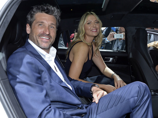 Maria Sharapova Getting Chummy with Patrick Dempsey