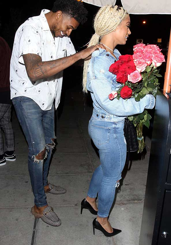 Who Has Cuter Shoes Nick Young Or His Girl?