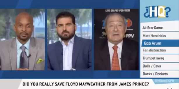 Bob Arum Saved Floyd Mayweather From Getting Beat Up?