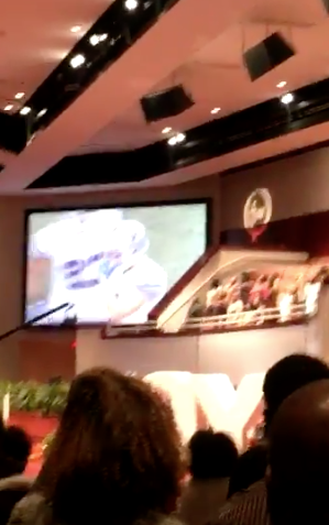 Cowboys Game Shown At Church In Dallas