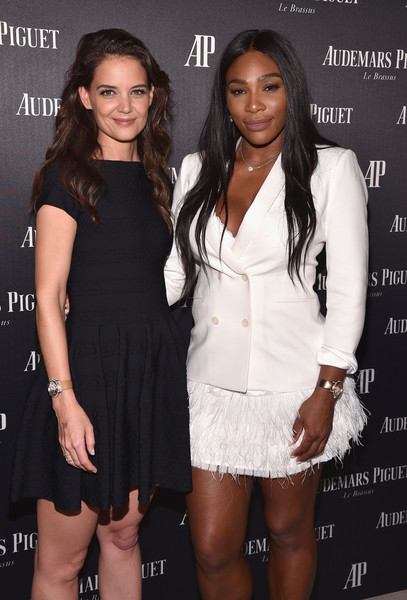 Serena Williams and Katie Holmes Couple Up