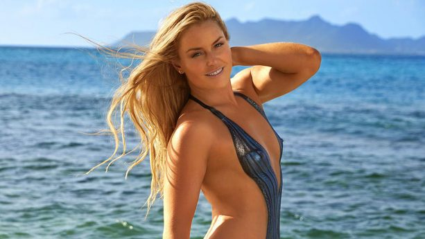 Lindsey Vonn's Sexy Body Paint | Outtakes |