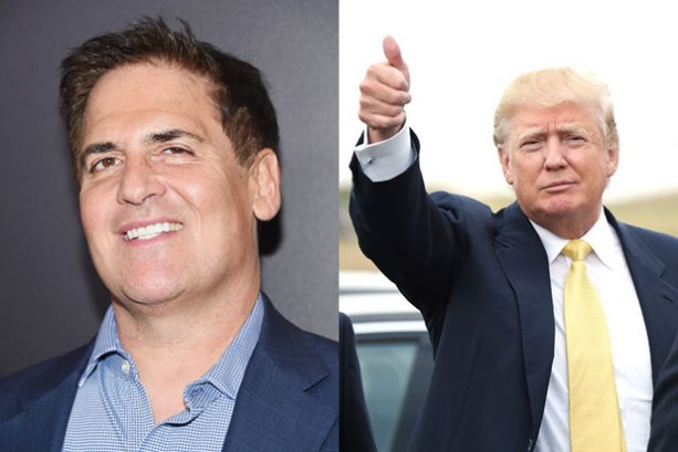 Mark Cuban Asks We Give the Donald a Chance