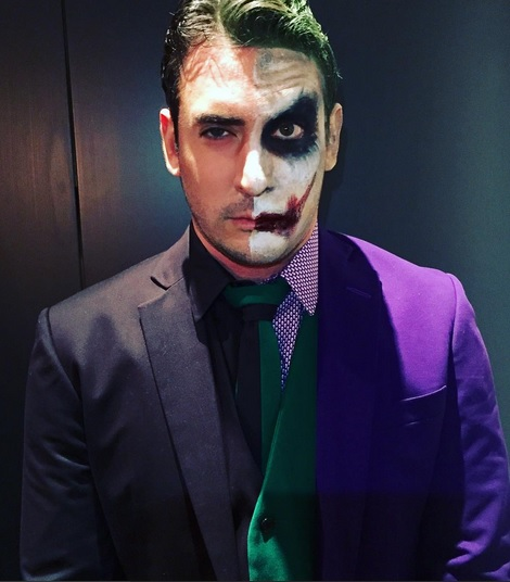 Matt Harvey Totally Effed Up his Dark Knight Costume