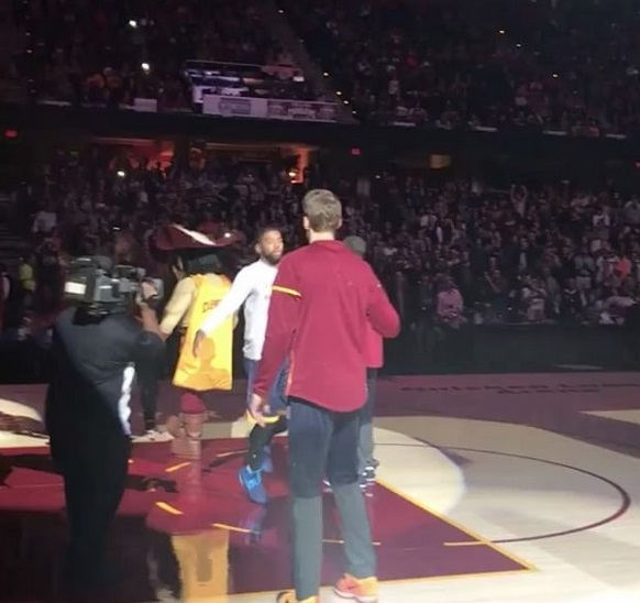 The Cavs are Leading the League in Pre-Game Handshakes