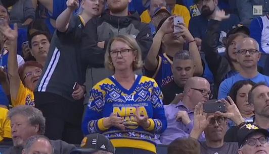 Dancing Golden State Warriors Fan Going Viral