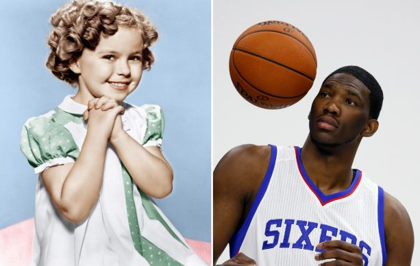 Joel Embiid Trying to Bottle Shirley Temples