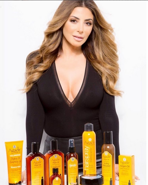 Larsa Pippen Pushing Products