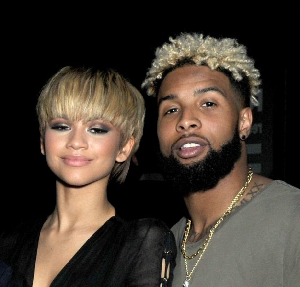 Odell Beckham Jr. and Zendaya Date Night?