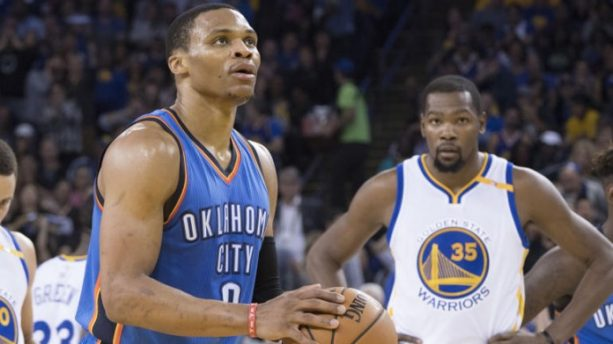 Westbrook and Durant Got the HELLO Treatment