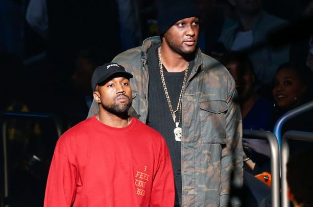 Kanye West Scared For His Life Reaches Out To Lamar Odom