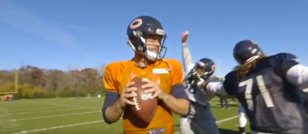 Chicago Bears latest to do 'Mannequin Challenge'