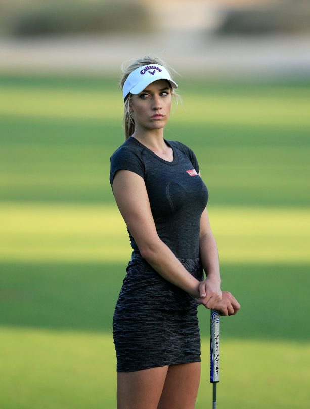 Golf Sensation Paige Spiranac in DUBAI