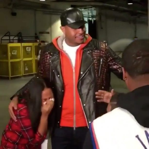 Carmelo Anthony Donates A Car To A 17-Year-Old Cancer Patient For Christmas!