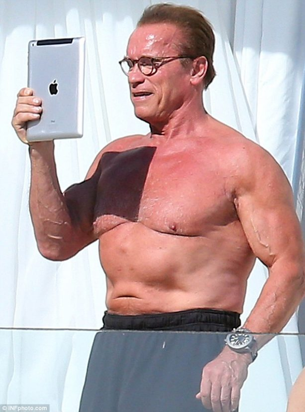 Arnold Schwarzenegger Has Body Image Issues