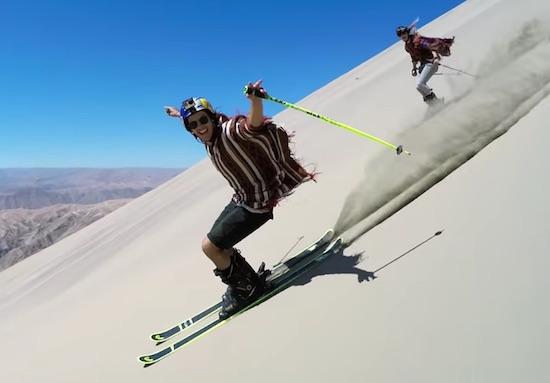 Dunes – Sand Skiing in Peru