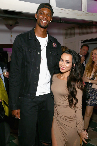 Chris Bosh and Wife Alive and Well in South Beach