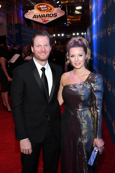 Dale Jr. Shows off Fiance at Vegas Awards Show