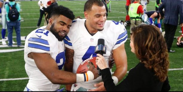 Ezekiel Elliot and Dak Prescott More Than Friends?