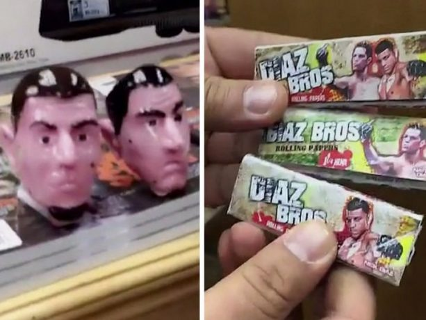 Nick Diaz Shows Off His and Nate's New Weed Products