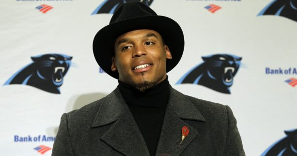 Check out Cam Newton's Reaction When Told He was Getting Benched