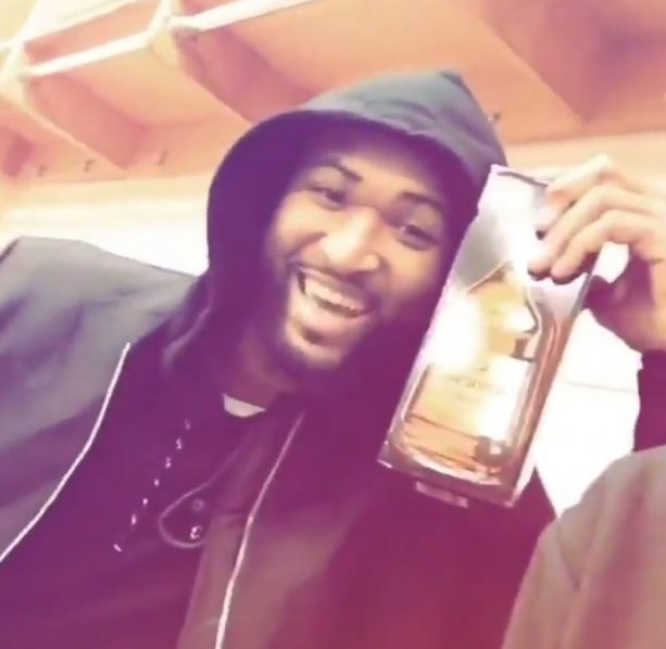 Matt Barnes and Boogie Drank Hennessy