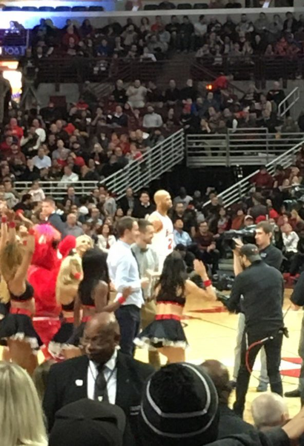 Same-Sex Proposal on the Court that Michael Jordan Built