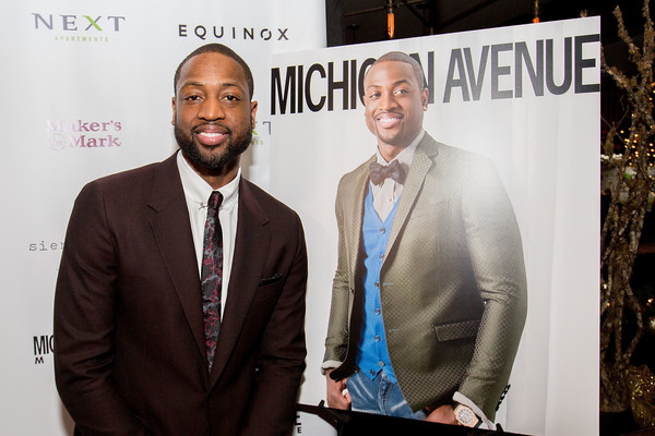 D-Wade Covers Michigan Avenue Magazine