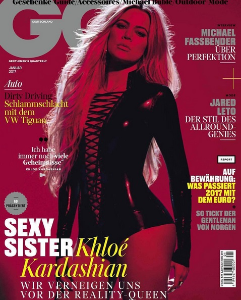 NBA Groupie Khloé Sexed Up GQ Germany Shoot